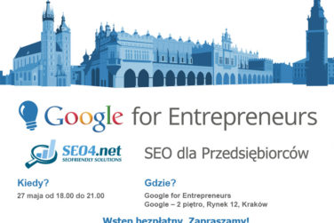 Baner Google for Entrepreneurs