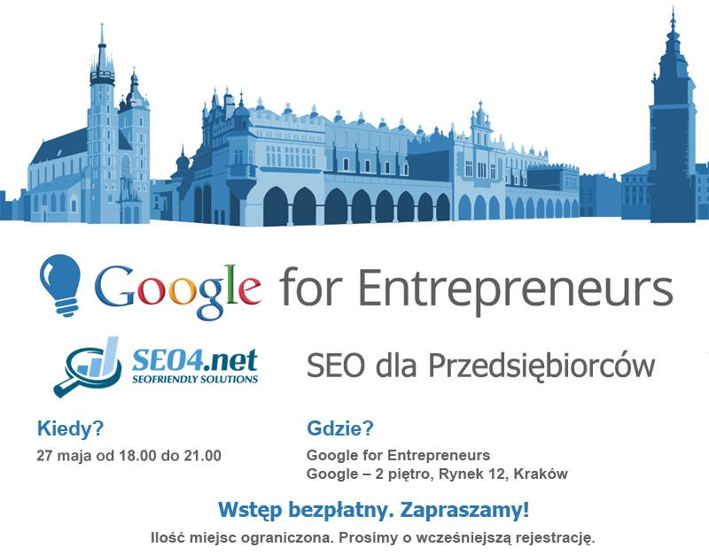 Baner Google for Entrepreneurs