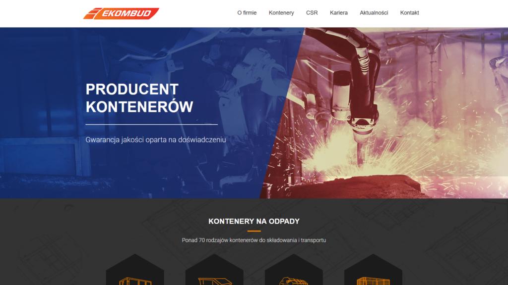 Tworzenie stron www - Ekombud