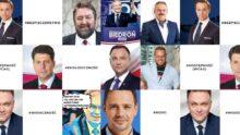 Raport stron kandydatów na prezydenta RP 2020 - case study