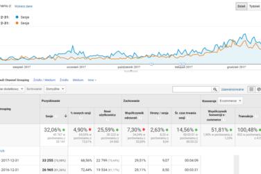 Wzrost przychodów sklepu internetowego - Case study